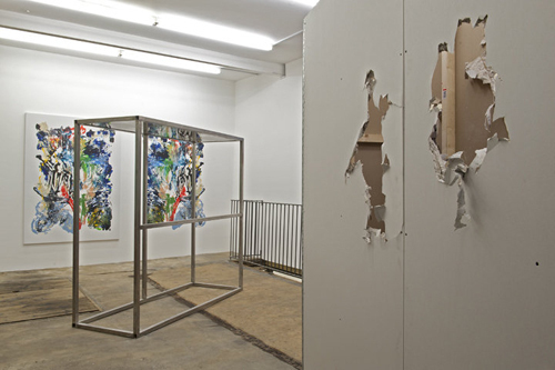 "View of ""Surface to Surface,"" 2012."