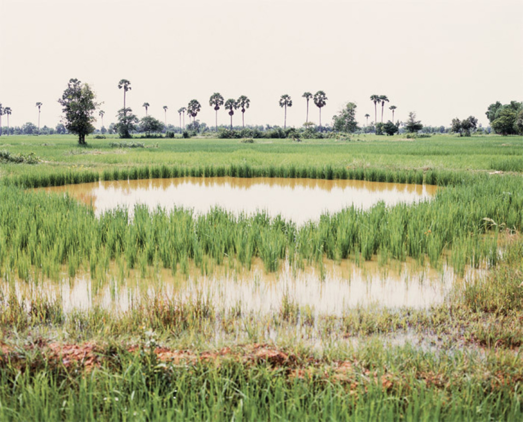 "Vandy Rattana, Takeo, 2009, color photograph, 35 3/8 x 41 3/8"". From the series ""Bomb Ponds,"" 2009."