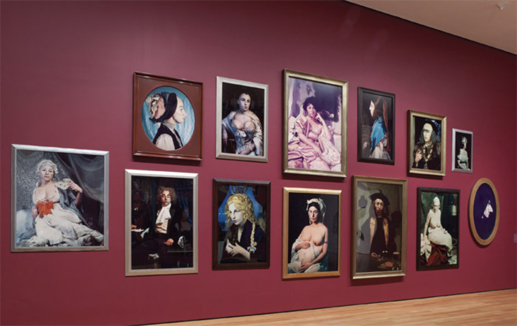 "View of ""Cindy Sherman,"" 2012. Photo: Thomas Griesel."