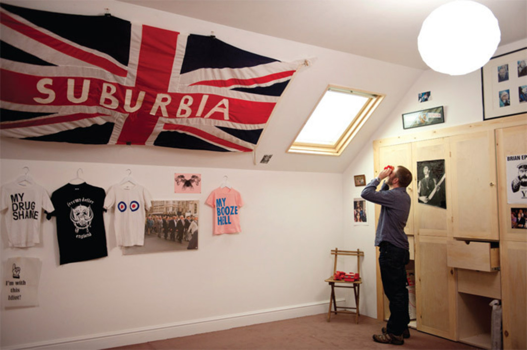 Jeremy Deller, Open Bedroom, 1993, mixed media. Installation view, 2012. Photo: Linda Nylind.
