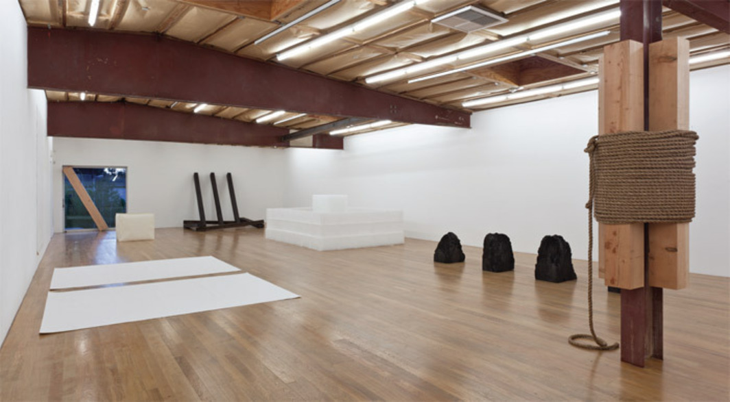 "View of ""Requiem for the Sun: The Art of Mono-ha,"" 2012."