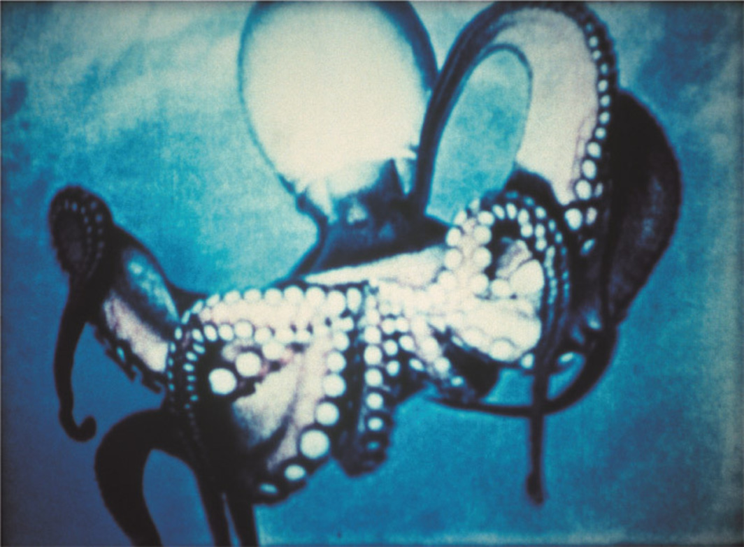 Jack Goldstein, Underwater Sea Fantasy, 1983/2003, still from a color film in 16 mm, 6 minutes 30 seconds.