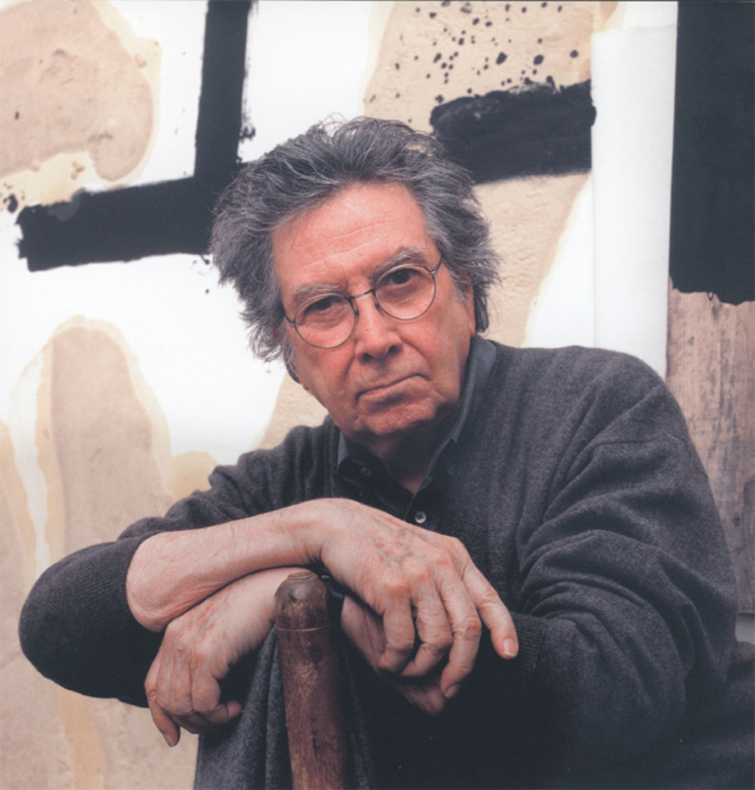 Antoni Tàpies in his studio in Campins, Catalonia, Spain, November 4, 2002. Photo: Martí Gasull.