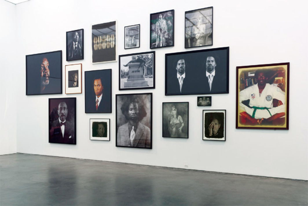 "View of ""Rashid Johnson: Message to Our Folks,"" 2012. Photo: Nathan Keay."
