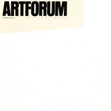 Cover: a project for Artforum by Robert Ryman