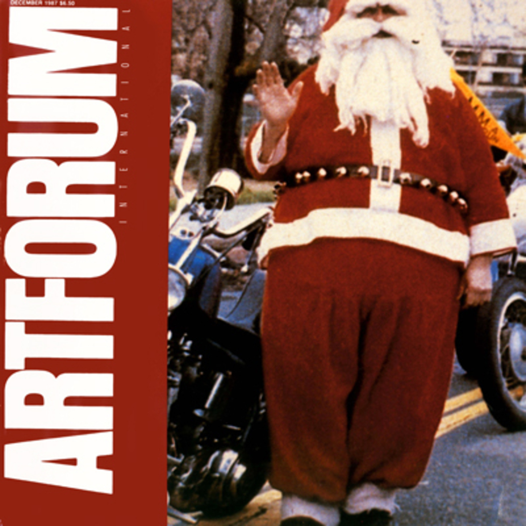 "Richard Prince, Super Heavy Santa (detail), 1986, Ektacolor print, 86 x 48""."