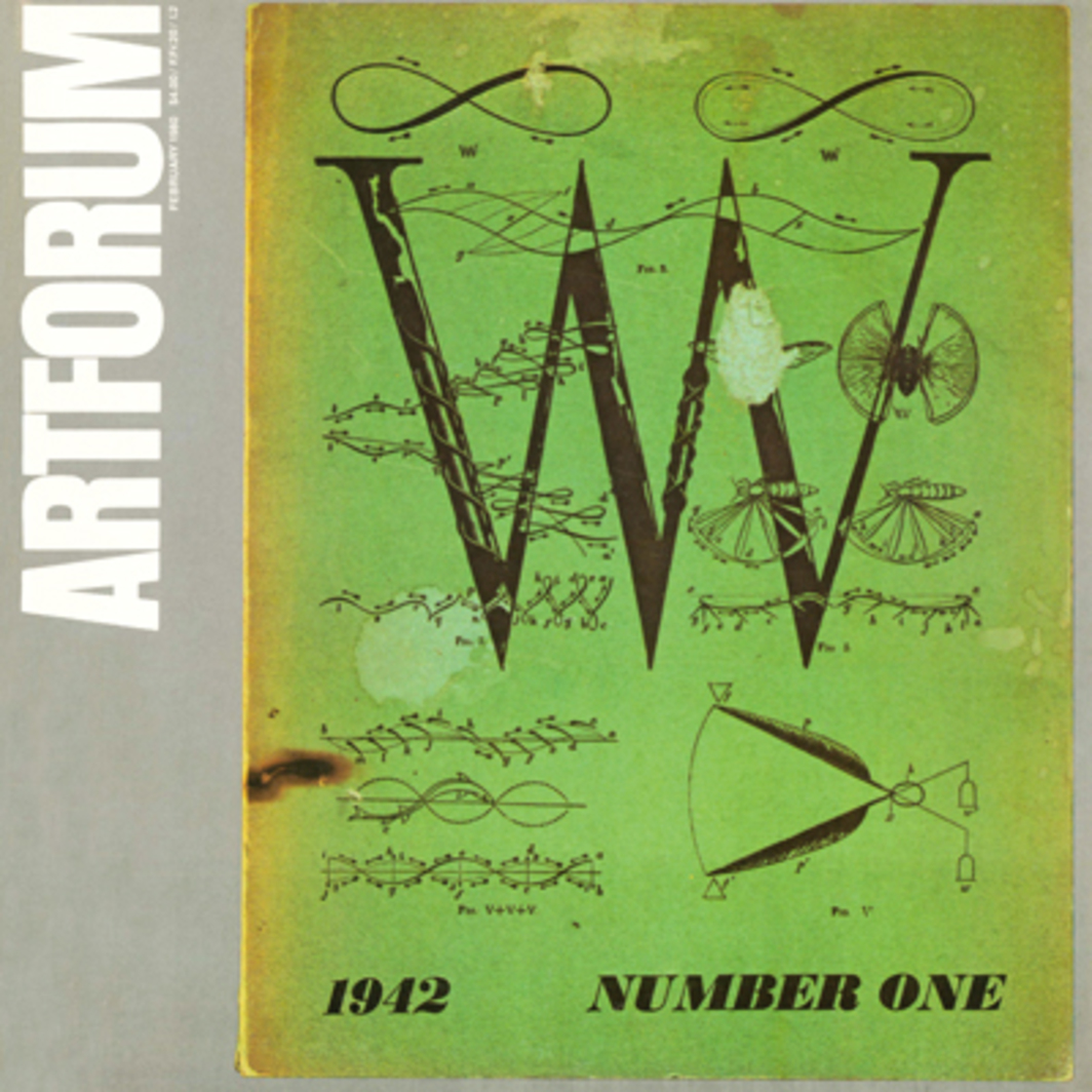 Cover of VVV, Number 1, June 1942, by Max Ernst; courtesy David Hare.