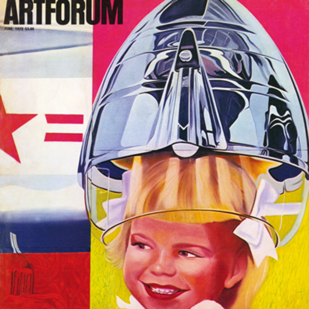 James Rosenquist, F-111, oil on canvas with aluminum, 10' x 86', 1965. (Partial view.)
