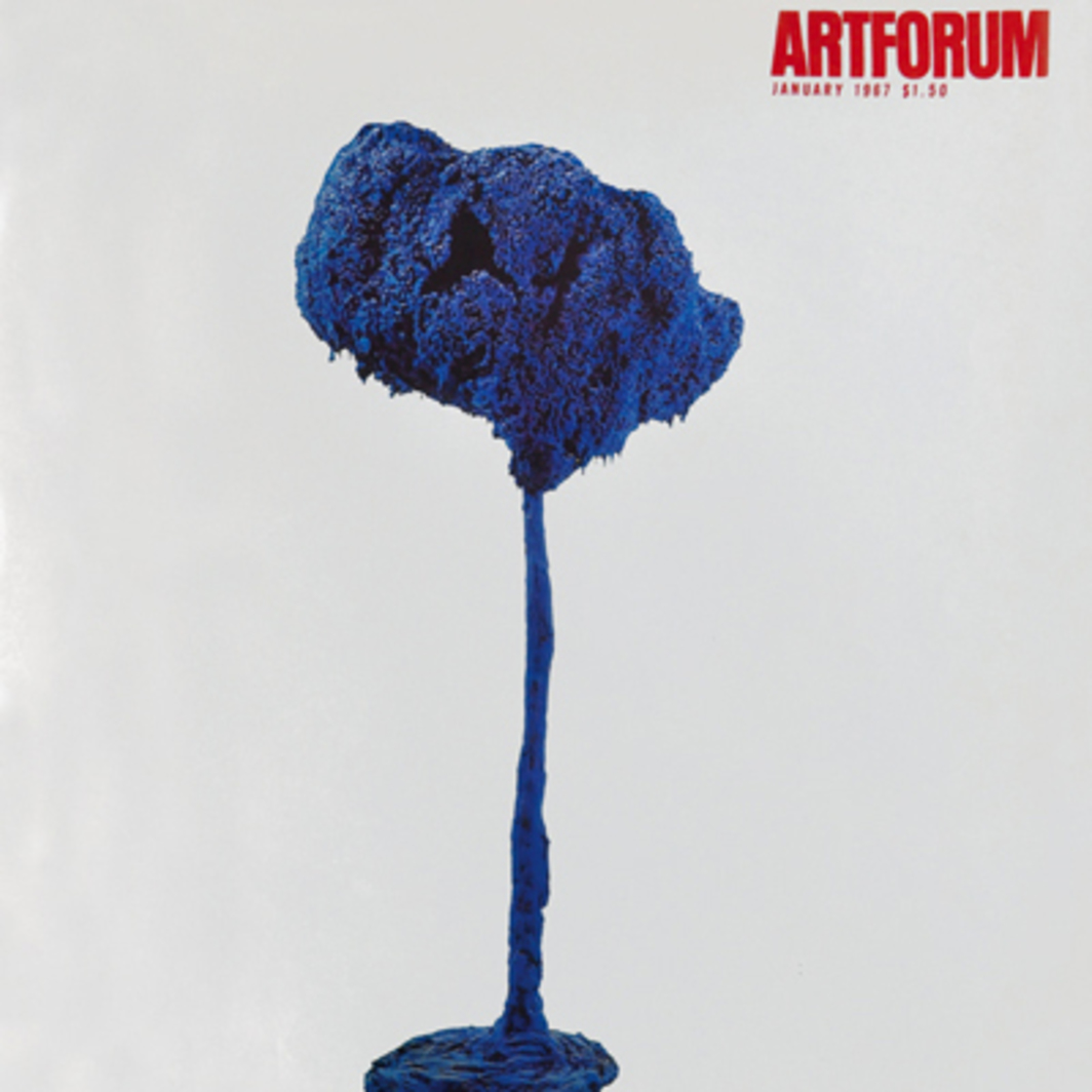 Yves Klein, Sponge Sculpture, 1962. (Collection Mme. Yves Klein.)
