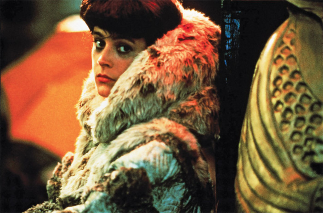 Ridley Scott, Blade Runner, 1982, 35 mm, color, 117 minutes. Rachael (Sean Young).