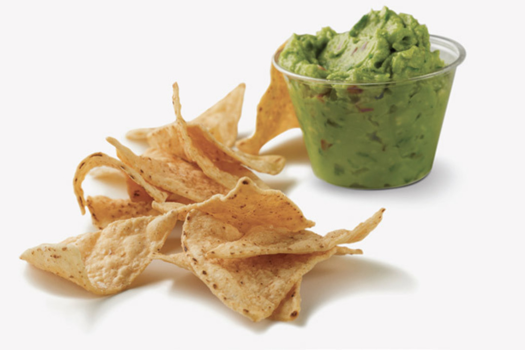*Chipotle chips and guacamole.* Photo: Beth Galton.