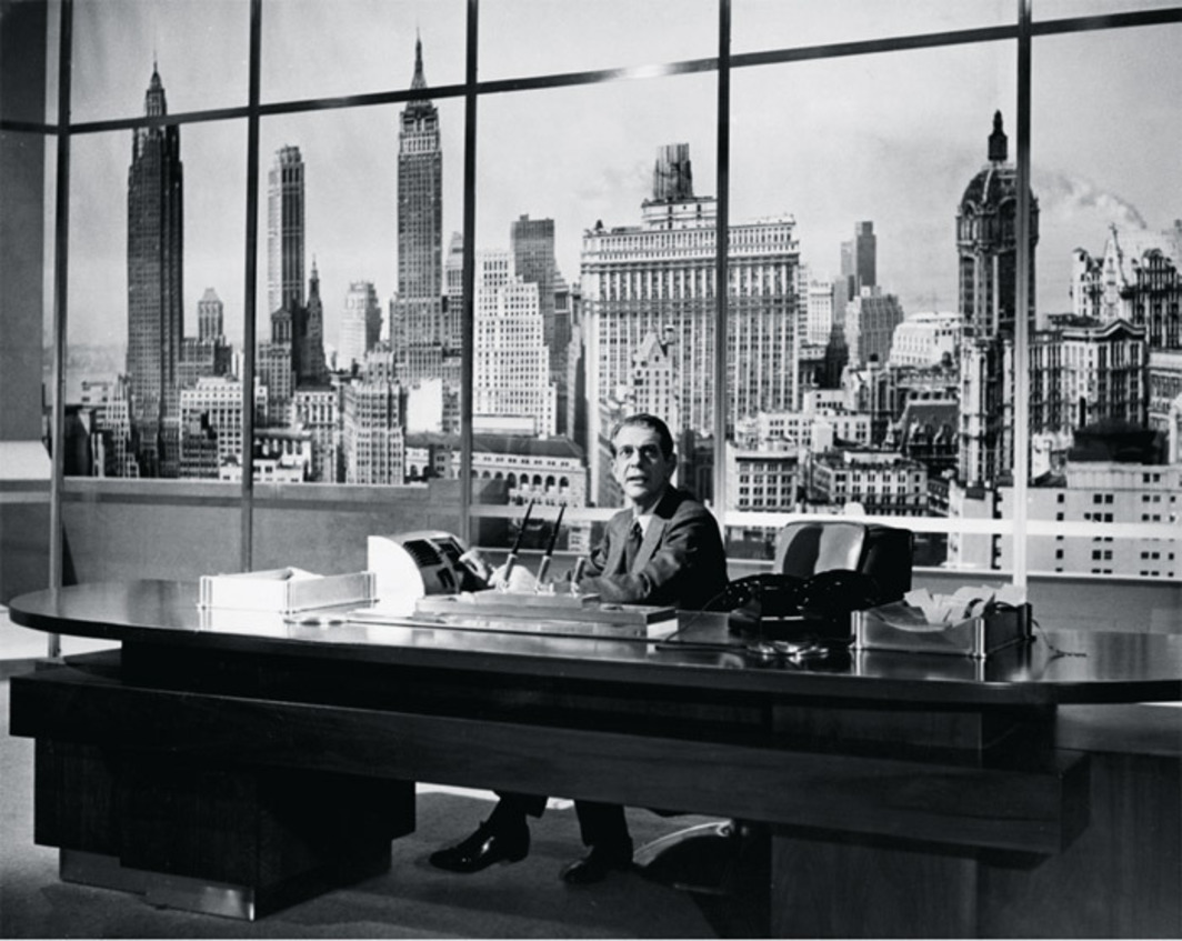 *King Vidor, _The Fountainhead_, 1949*, 35 mm, black-and-white, sound, 114 minutes. Gail Wynand (Raymond Massey).