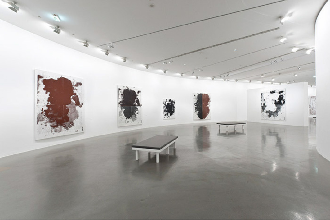 "View of ""Christopher Wool,"" 2012, Musée d'Art Moderne de la Ville de Paris, Paris. Photo: Pierre Antoine."