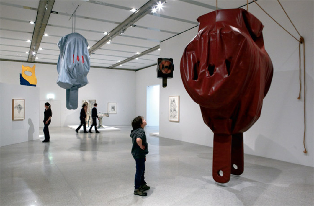 "View of ""Claes Oldenburg: The Sixties,"" 2012."