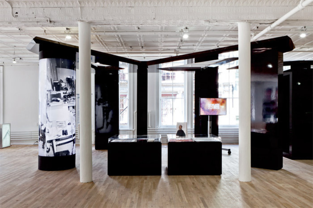 "View of ""Bernadette Corporation: 2000 Wasted Years,"" 2012. Photo: Daniel Perez."