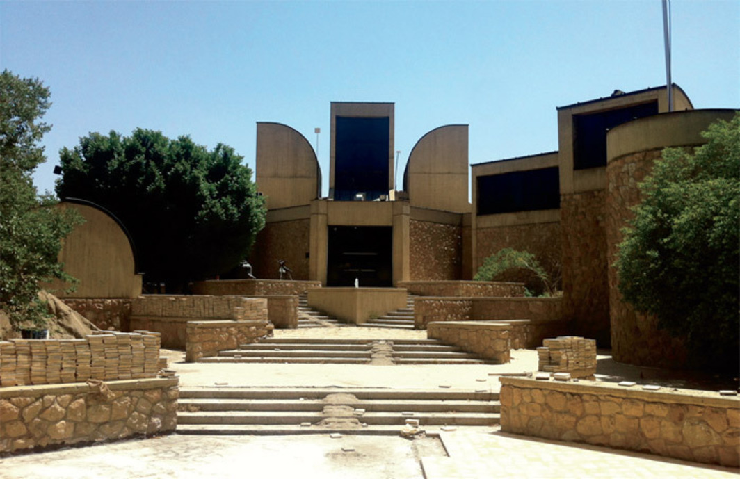 Exterior of the Tehran Museum of Contemporary Art, 2012.
