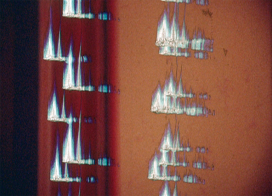 António Palolo, Drawings/Lines, 1971, Super 8 film transferred to DVD, color, silent, 10 minutes 8 seconds.