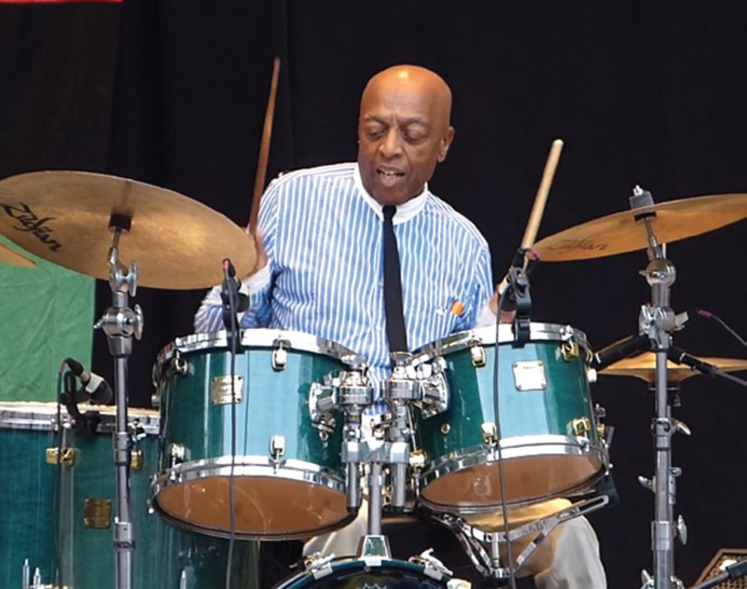 Roy Haynes and the Fountain of Youth Band, Charlie Parker Jazz Festival, Marcus Garvey Park, New York, August 25, 2012.