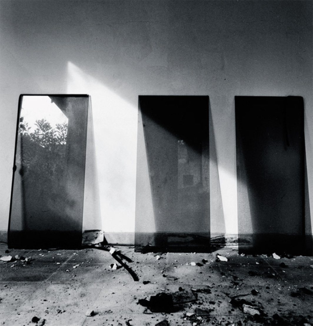 "Simryn Gill, My Own Private Angkor, #33, 2007–2009, gelatin silver print, 15 1/2 x 14 3/4"". From the ninety-part suite ""My Own Private Angkor,"" 2007–2009."