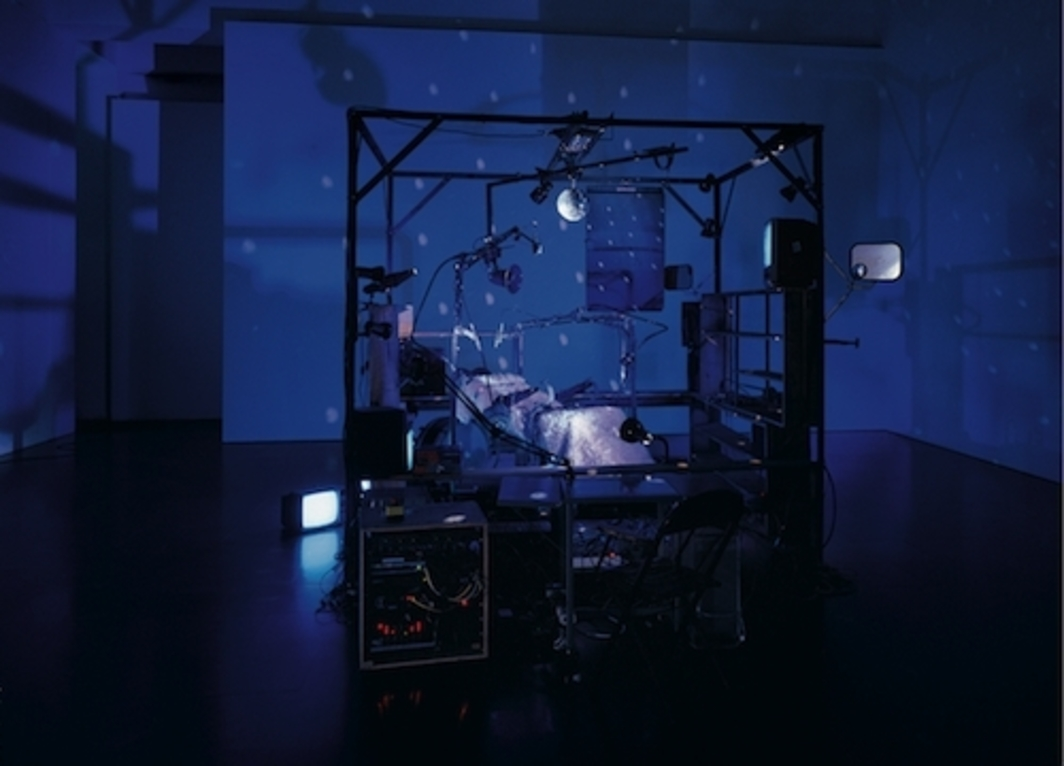 Janet Cardiff & George Bures Miller, Killing Machine, 2007, mixed media, dimensions variable.