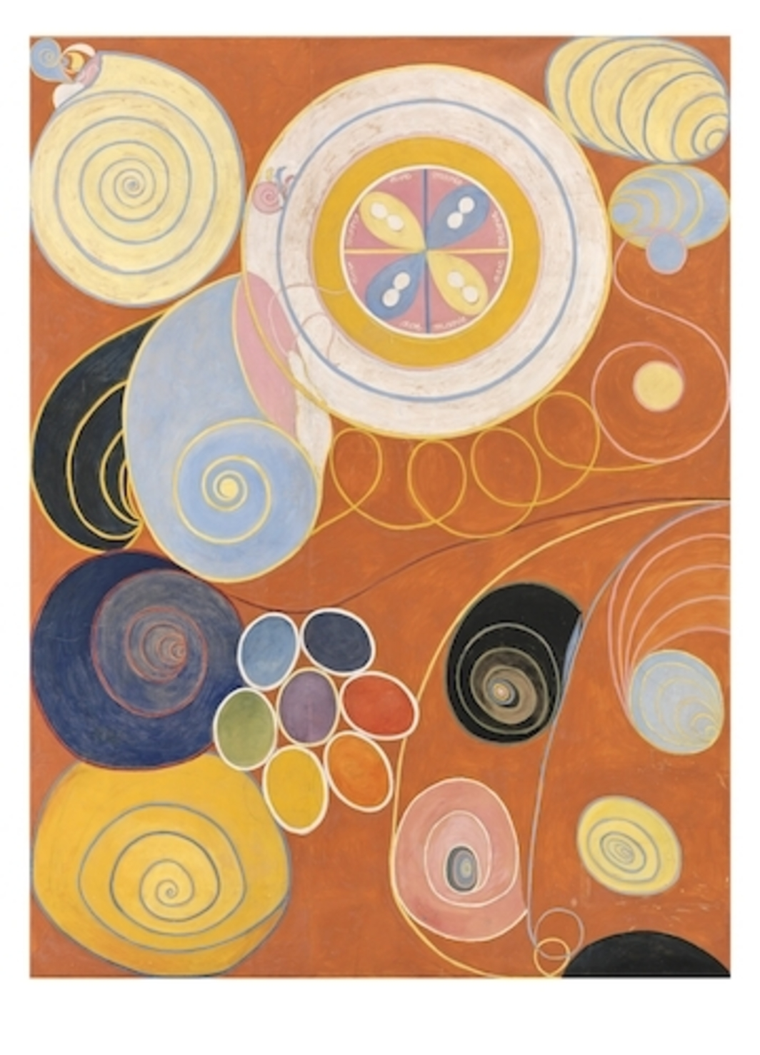Hilma Af Klint, The Ten Largest, 1907, oil and tempura on paper, XXX.