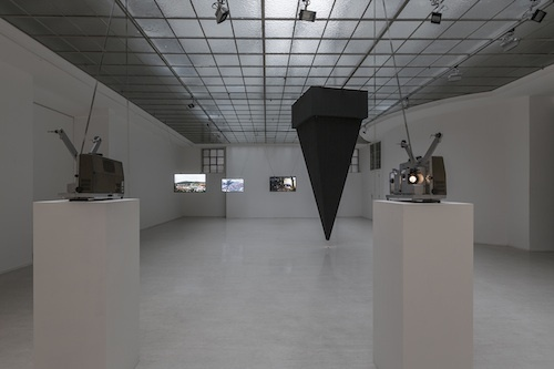 "View of  ""Cinematic Scope,"" 2013."