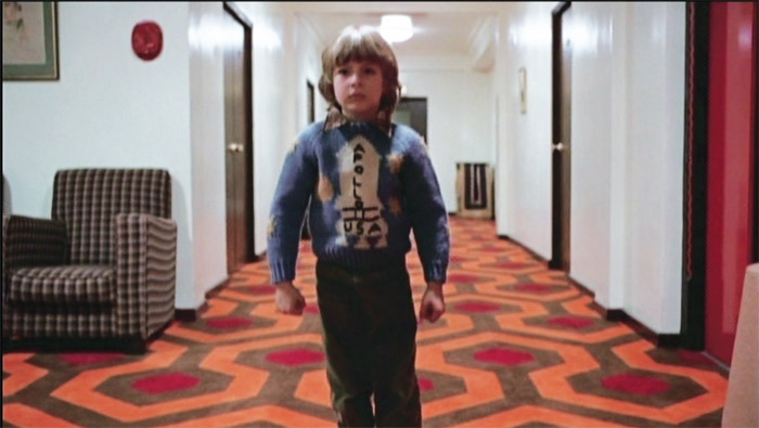 Rodney Ascher, Room 237, 2012, digital video, color and black-and-white, sound, 102 minutes. Clip from Stanley Kubrick's The Shining, 1980.