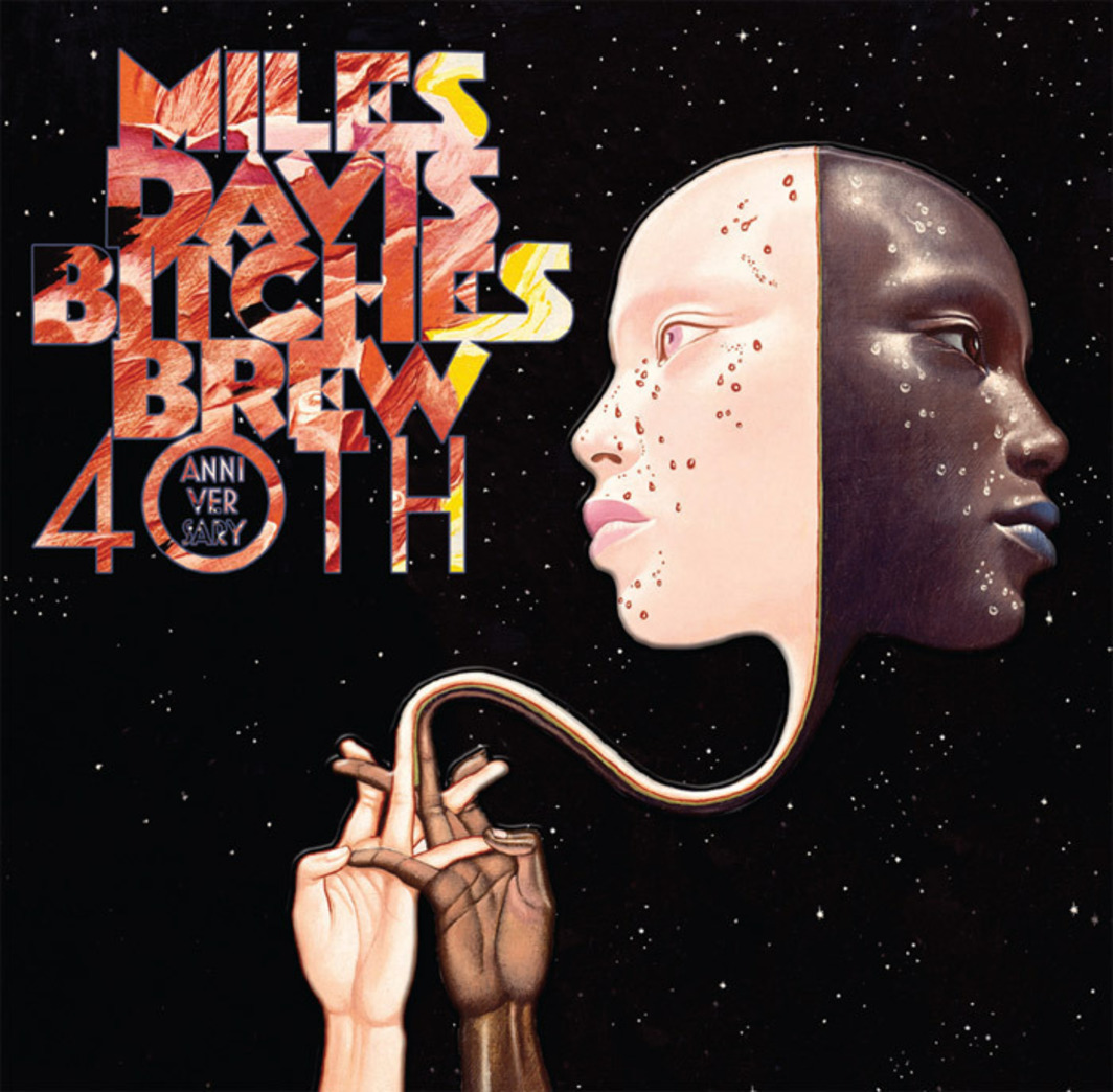 Cover of Miles Davis's Bitches Brew (40th Anniversary Collector's Edition) (Sony Legacy, 2010).