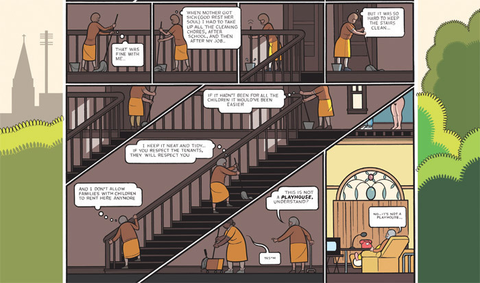 Detail from Chris Ware's Building Stories (Pantheon Books, 2012).
