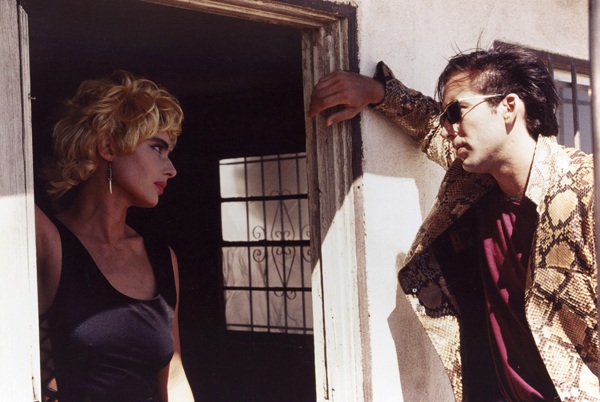 David Lynch, Wild at Heart, 1990, 35 mm, color, sound, 125 minutes. Perdita Durango and Sailor Ripley (Isabella Rossellini and Nicolas Cage).