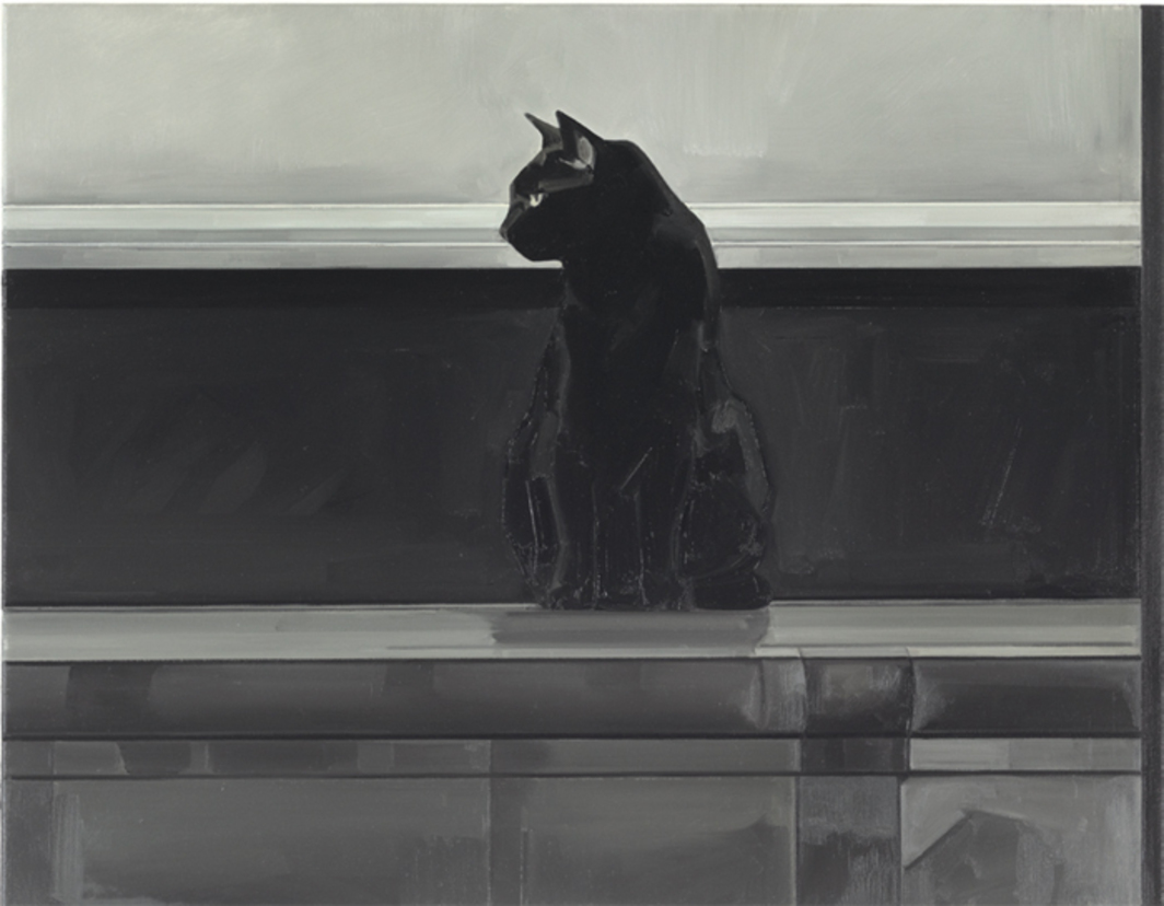 "Gillian Carnegie, Prince, 2011, oil on canvas, 27 1/2 x 35 1/2""."