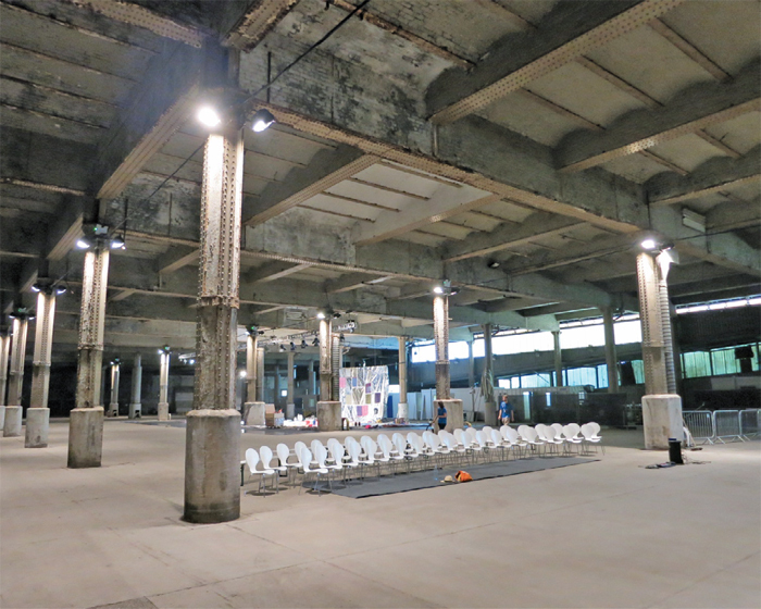View of Manchester International Festival, Mayfield Depot, Manchester, UK, 2013.