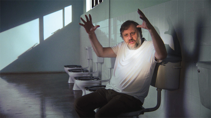 Sophie Fiennes, The Pervert's Guide to Ideology, 2012, digital video, color, sound, 136 minutes. Slavoj Žižek.
