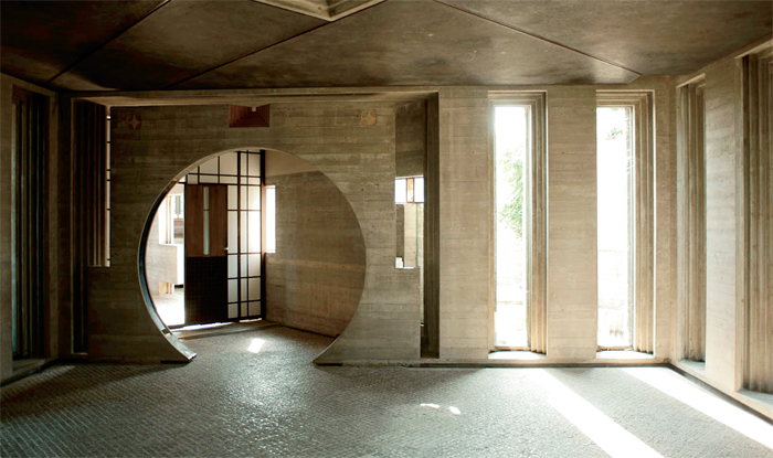 Carlo Scarpa, Brion Tomb and Sanctuary, 1969–78, San Vito d'Altivole, Italy. Photo: LeonL/Flickr.