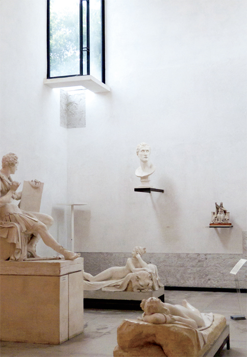 Carlo Scarpa, Gipsoteca, Museo Canova, 1955–57, Possagno, Italy. Photo: Peter Guthrie/Flickr.