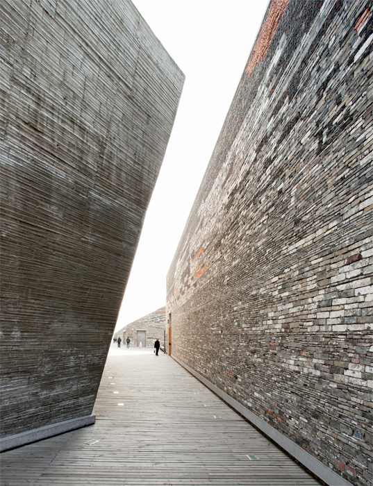 Amateur Architecture Studio, Ningbo History Museum, 2008, Zhejiang, China. Photo: Clément Guillaume.