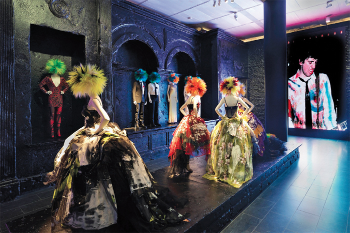 "View of ""Punk: Chaos to Couture,"" 2013."