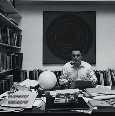William Rubin in the office of his loft at Thirteenth Street and Broadway, New York, 1967. Photo: William Grigsby.  © Condé Nast Archive/Corbis.