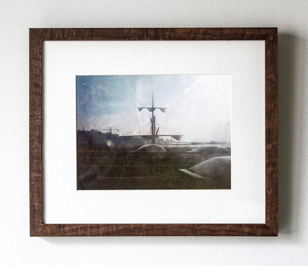 "Matheus Rocha Pitta, Nau (Ship), 2011–13, framed digital C-print, 12 x 16""."