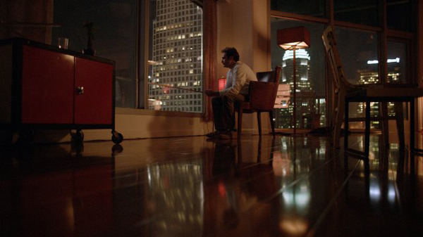 Spike Jonze, Her, 2013, HD video, color, sound, 120 minutes. Theodore Twombly (Joaquin Phoenix).