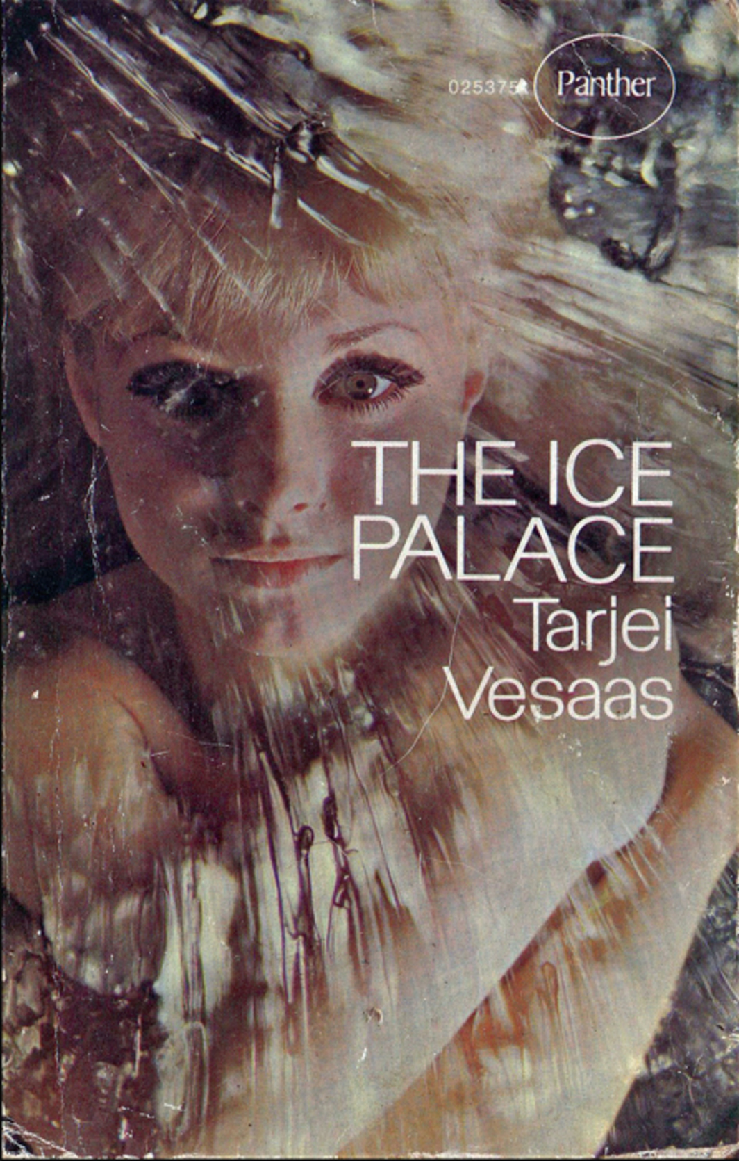 *Cover of the Panther 1968 edition of Tarjei Vasaas's The Ice Palace.*