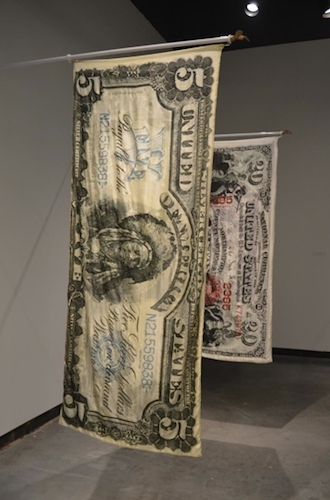 "View of ""Legal Tender,"" 2014."