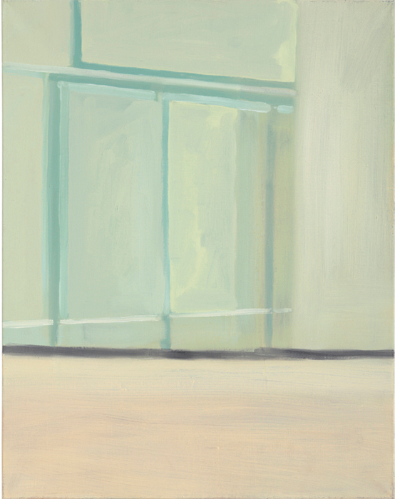 "Ilse D'Hollander, Untitled (#25), 1996, oil on canvas, 27 1/2 x 21 5/8""."