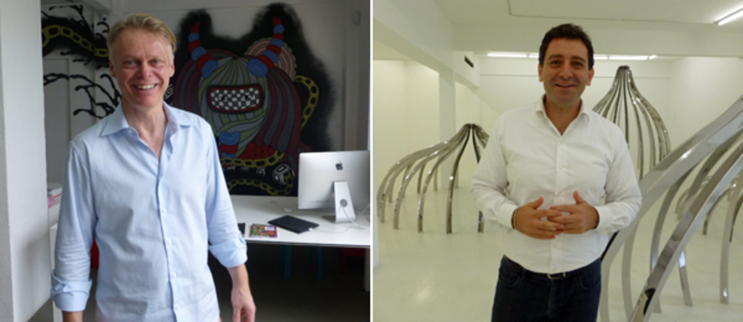 Left: Dealer Michael Janssen. Right: Dealer Can Yavuz.