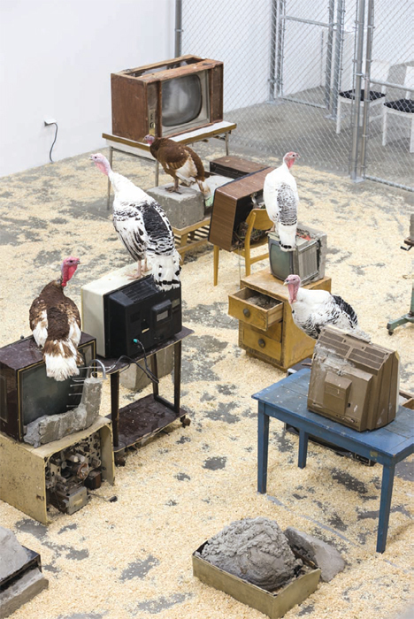 Wolf Vostell, Endogen Depression, 1980/2013, mixed media, dimensions variable.