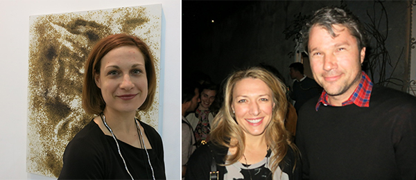 Left: Chiara Badinella. Right: Janelle and Alden Pinnell.
