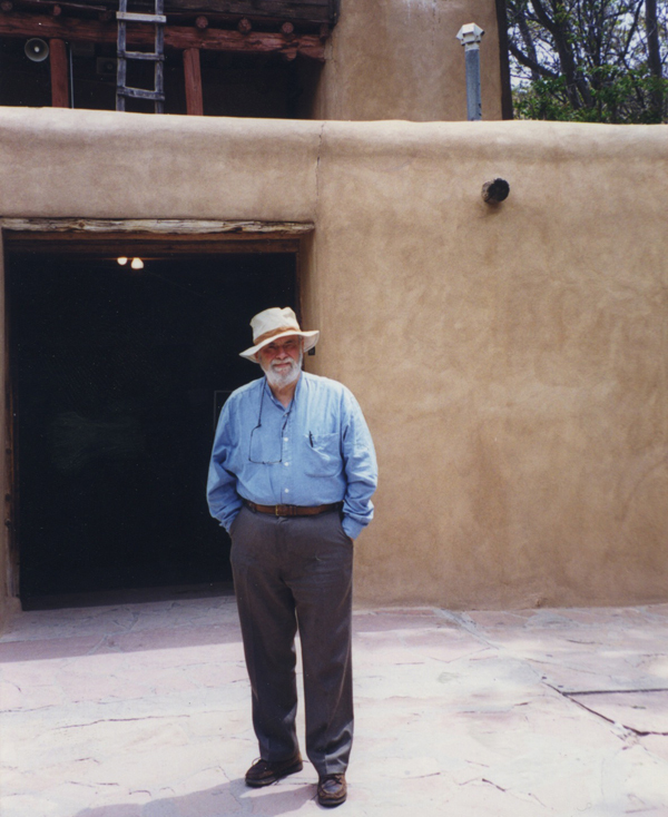 Arthur Danto in New Mexico in June 1999.