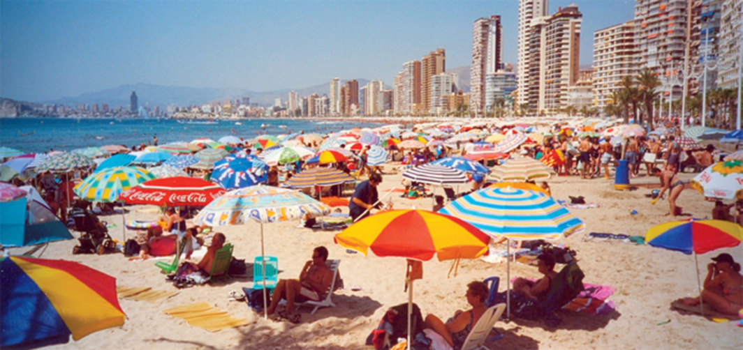 Benidorm, Spain, 2001. Photo: Hans Pama/Flickr.