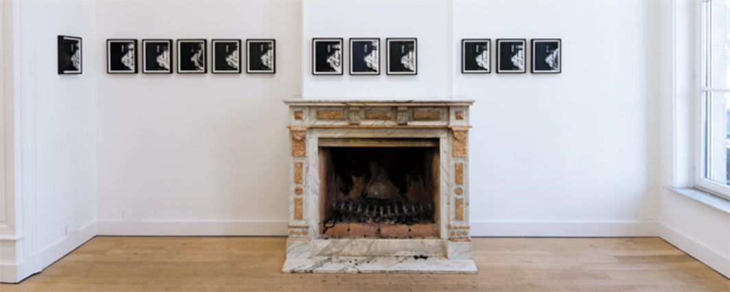 Marina Pinsky, Instruction Manual, 2013, twelve gelatin silver prints. Installation view, Clearing, Brussels.