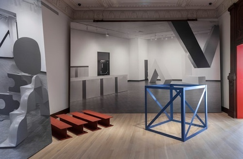 "View of ""Other Primary Structures,"" 2014."